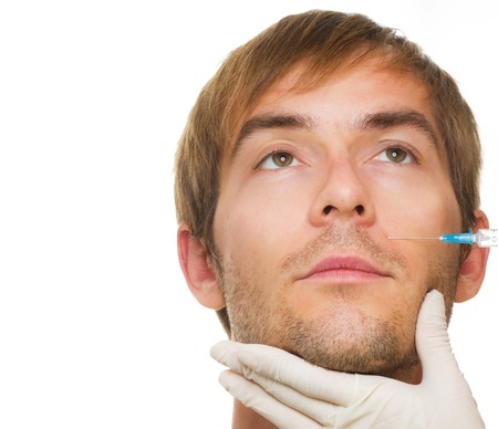 MYTHS ABOUT BOTOX - Male, Botox injection